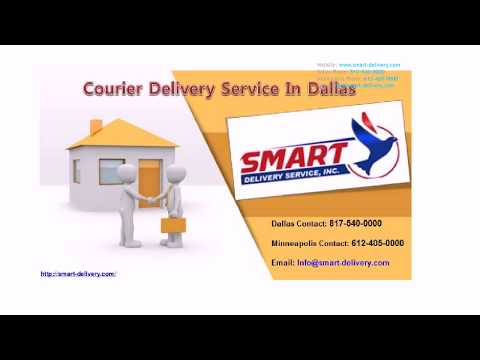 Courier Service Dallas Delivery Service Minneapolis
