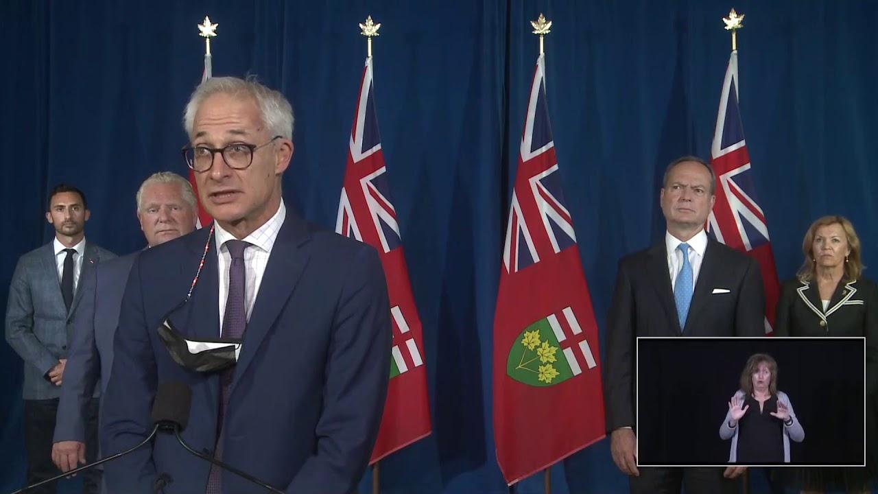 Ontario Premier Doug Ford Provides COVID-19 Update | September 16