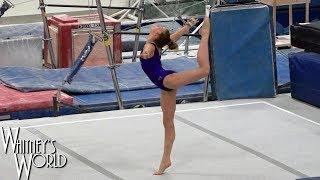 Floor Exercise Tumbling | Whitney Bjerken Gymnastics
