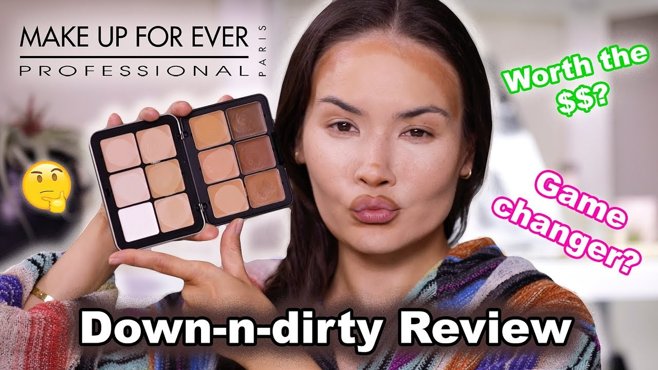 Reviewing Makeup Forever Ultra Hd Foundation Palette Maryam Maquillage