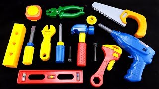 "😀Go Grow Fun😀 EP35 ""Learning Hand Tools with playtable Tool Set"""