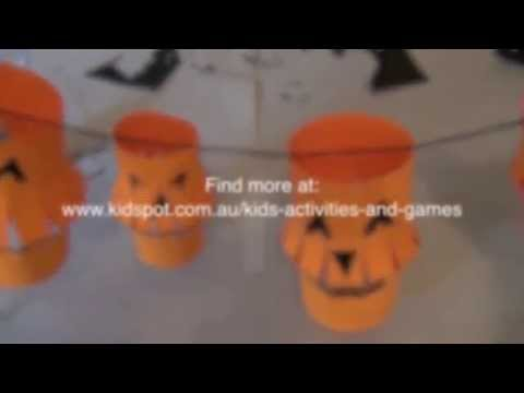 how to make halloween paper lanterns youtube - How To Make Halloween Lanterns