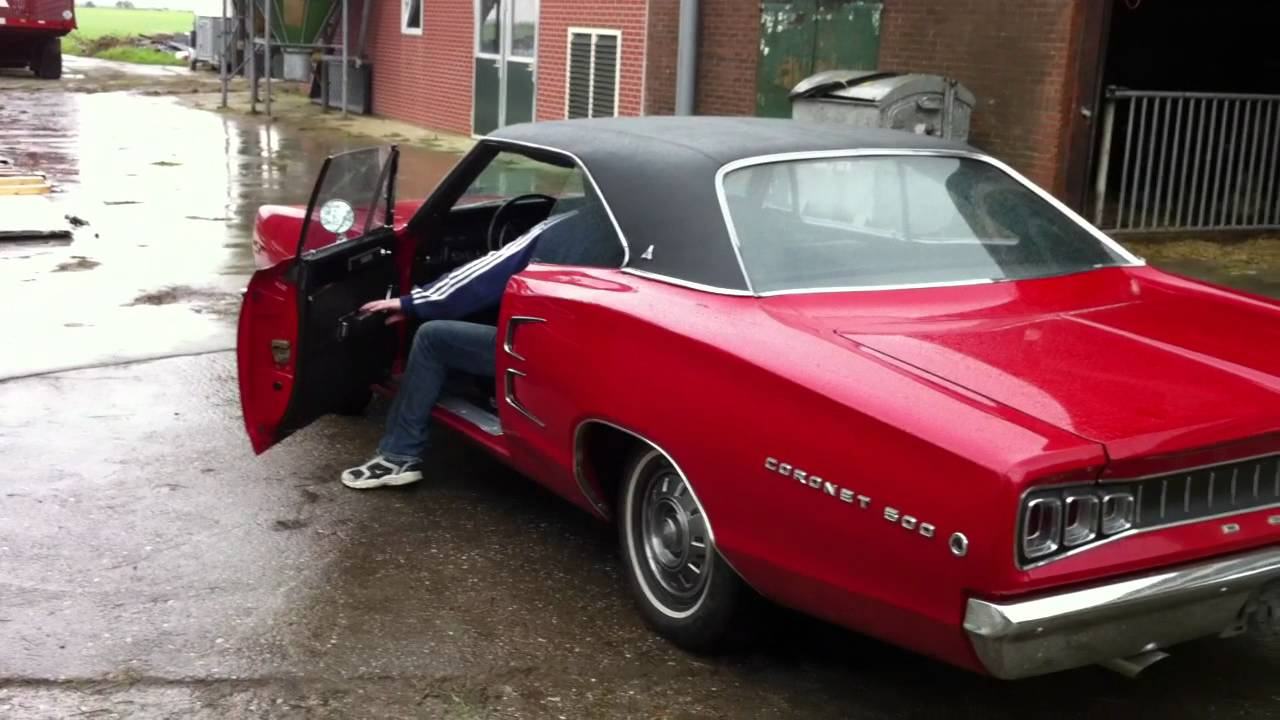 1968 Dodge Coronet 500 - YouTube