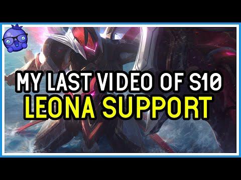 My Last Video of Season 10! Leona Support - League of Legends
