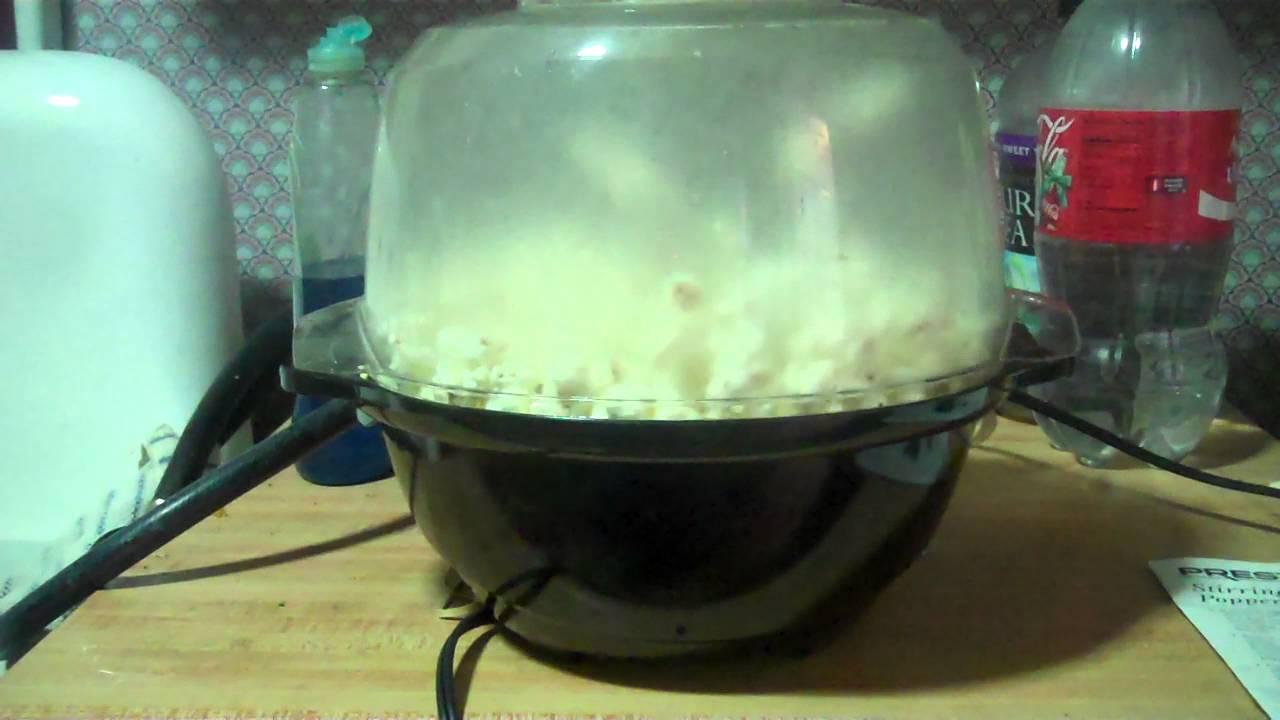 Presto Stirring Popcorn Popper Model Eo520001
