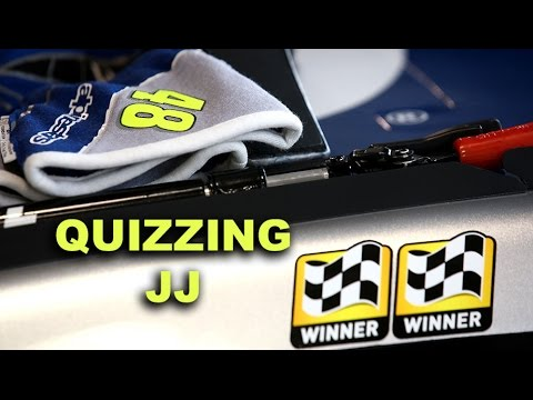 Jimmie gets quizzed on his career wins