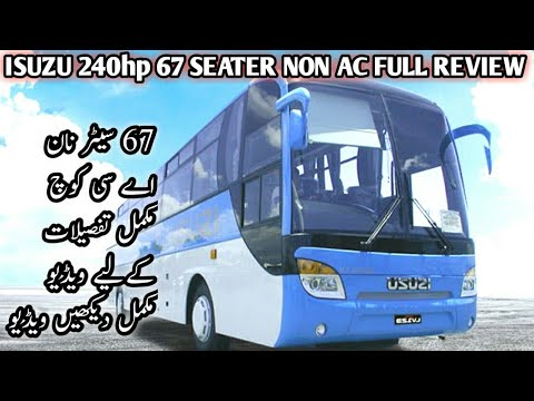 ISUZU Non AC 67 Seater Bus Full detailed Review | Expenses ? Profit ? | Monthly Kharchy or kamai ?