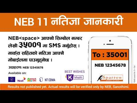 NEB Grade 11 Result 2075 - YouTube