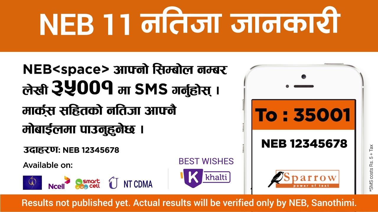 NEB Result 2076 | NEB Grade 11 Result 2076 in 35001