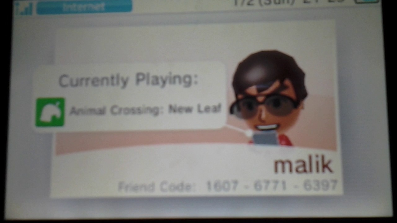 how to add friends using friend code 3ds