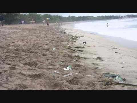 Dirty Bali Beach