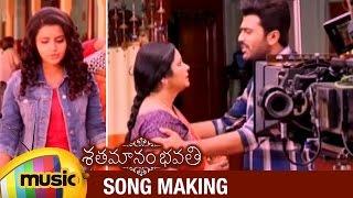 Download Hindi Video Songs - Shatamanam Bhavati Telugu Movie Making | Nilavade Song | Sharwanand | Anupama Parameshwaran