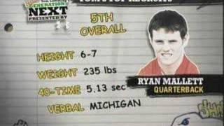 Top 10 High School Football Recruits of 2007