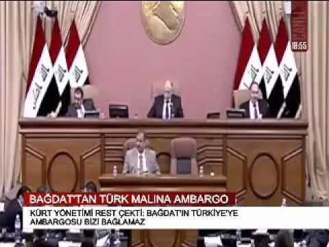 BAĞDAT'TAN TÜRK MALINA AMBARGO