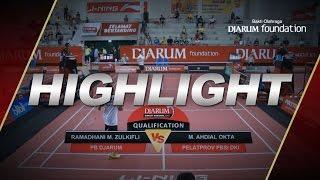 Ramadhani M. Zulkifli (Djarum Kudus) VS M. Ahdial Okta (Pelatprov PBSI DKI Jakarta)