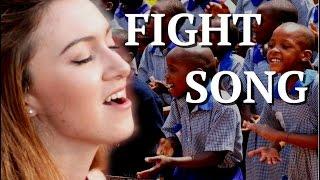 """Fight Song"" (Rachel Platten)- Malinda Kathleen Reese, ft. Ashinaga Uganda"