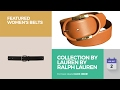 Collection By Lauren By Ralph Lauren Featured Women's Belts