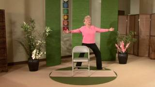 Gentle Chair Yoga for Seniors and Midlifers - Look no hands!