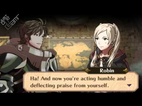 Fire Emblem Awakening - Female Avatar (My Unit) & Stahl Support Conversations