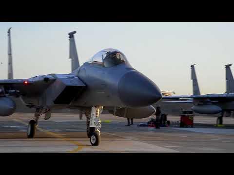 GWANGJU AIR BASE, SOUTH KOREA, Vigilant Ace 18  F 15C Eagles