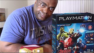 UNBOXING & DEMO: DISNEY PLAYMATION! [Avengers Starter Pack]