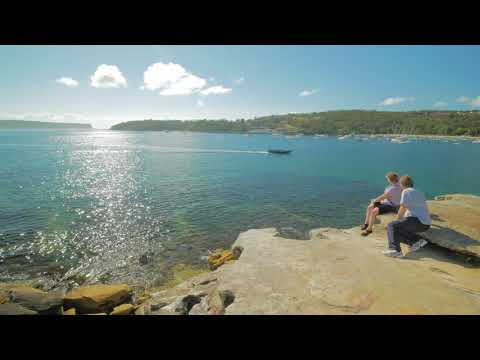 Sydney Video Walk 4K - Balmoral Beach to Chowder Bay Spring 2017
