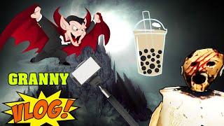 GTA 5 - Tổng hợp bà ngoại ma vlog - Hài hước với Granny | GHTG