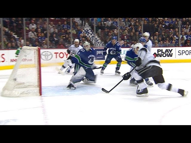 Dustin Brown cleans up rebound for overtime winner