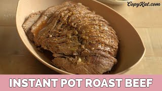 How to Make a Roast in an Instant Pot