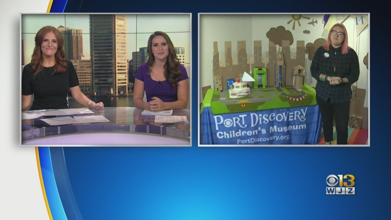 Port Discovery Children's Museum Has Build-A-Thon To Celebrate Play, Learning