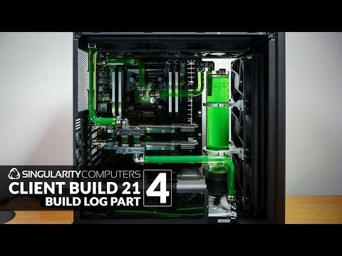 SC Build #21: H440 Liquid Cooling: Part 4
