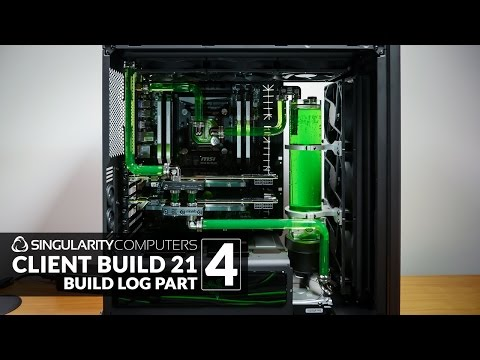 Water-cooling NZXT H440: CB21 Build Log: Part 4