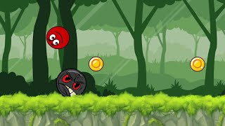 Ball Hero Adventure: Red Bounce Ball · Game · Gameplay