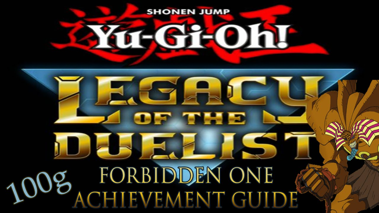 yugioh legacy of the duelist trophy guide