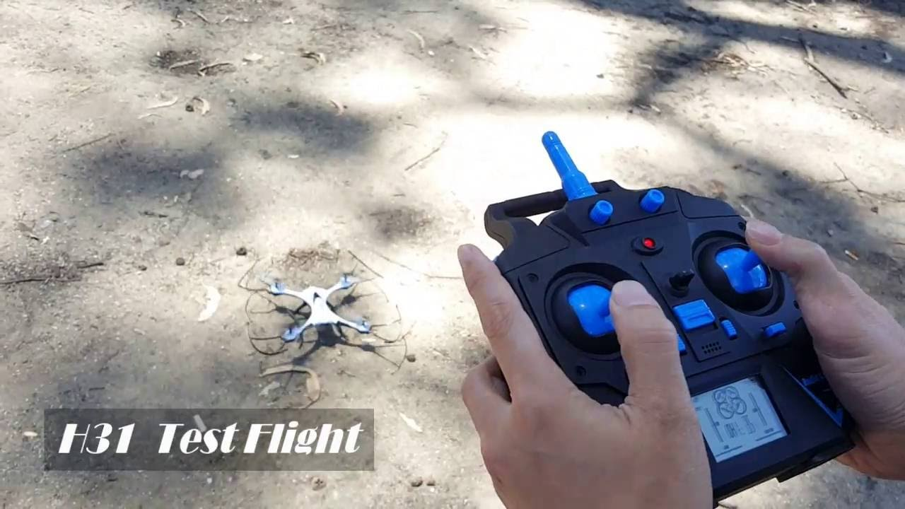 Papercraft Drone Review: Test Flight of the GearBest JJRC H31Quad-Copter