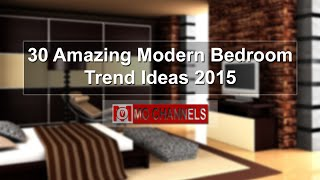 30 Amazing Modern Bedroom Trend Ideas 2015