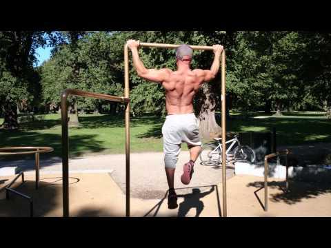 Pull ups fitness model hezi israeli!! More energy