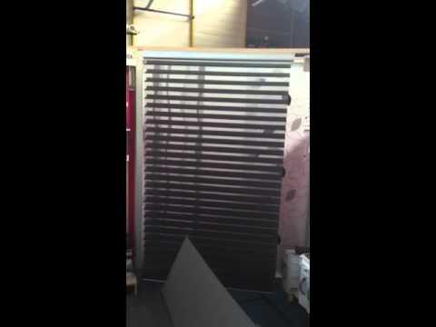 clara store deco store silhouette voilage électrique à pile youtube