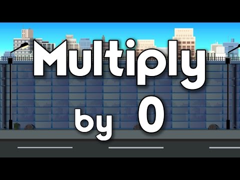 Multiply by 0 | Learn Multiplication | Multiply By Music | Jack Hartmann