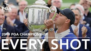 Every shot from Brooks Koepka's 2019 PGA Championship victory (All four rounds)