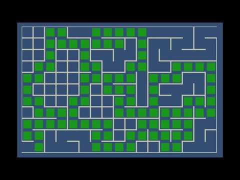 Implement Mazes in Unity2D using Backpropagation Algorithm
