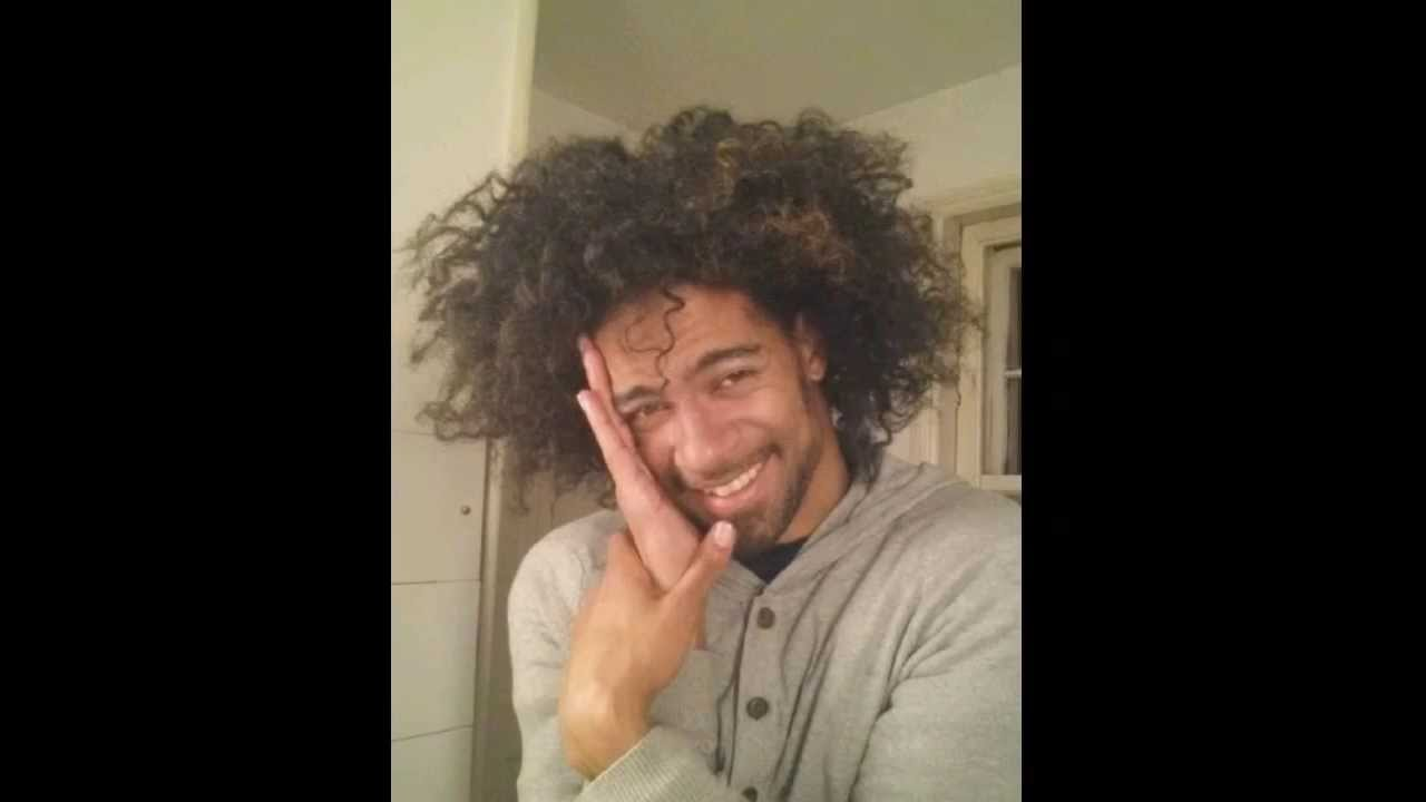 Taren Guy Curls Male Type 4 Natural Afro Braid Out