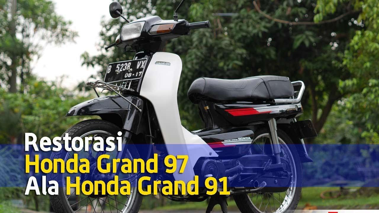 Aksesoris motor honda c70 modifikasi honda ria t Honda