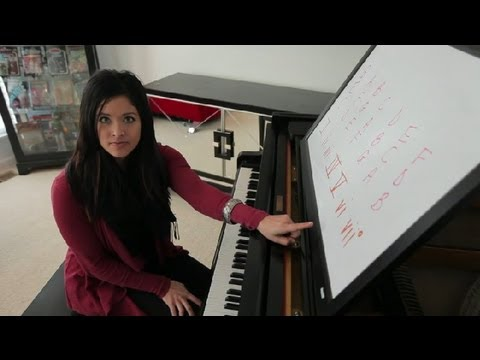 How to Make a Chord Progression in the Key of C : Piano Lessons