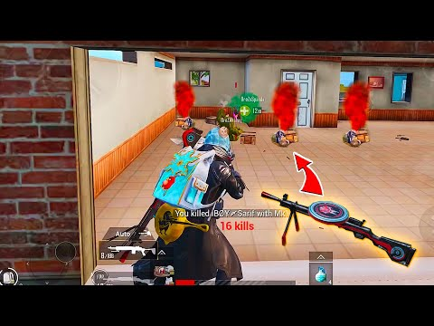 New DP-28 Enigmatic Killer Skin Lvl 3 Squads 19 Kills by KingAnBru in PUBG Mobile