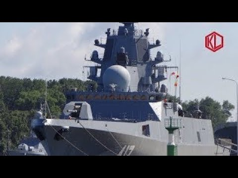 Russian Stealth Frigate