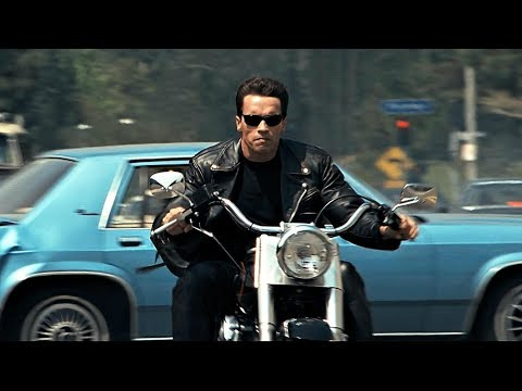 Terminator 2: All Bike Scenes l 4K Remastered 2017 / 3D