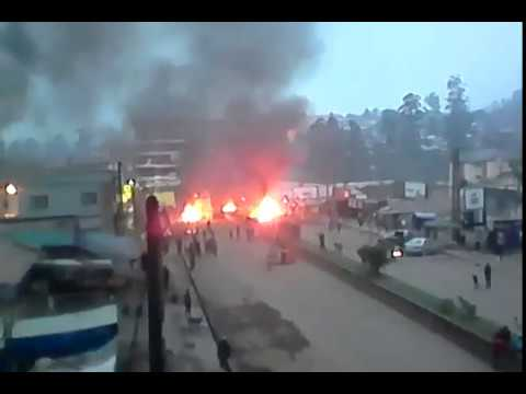 Southern Cameroon protest in Bamenda