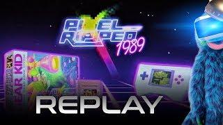 Replay : Pixel Ripped 1989 (PSVR) PS4 Pro | VR Singe