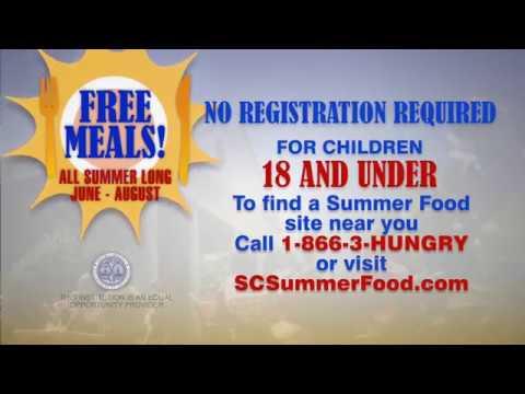 Denis Davis - Please share: SC Dept of Education's Summer food program